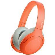 Sony Hi-Res WH-H910N, orange-grau - Kabellose Kopfhörer