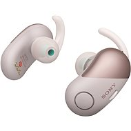 Sony WF-SP700N Rosa - Kopfhörer mit Mikrofon