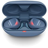 Sony True Wireless WF-SP800N, blau - Kabellose Kopfhörer