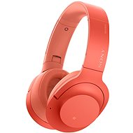 Sony Hi-Res WH-H900N Rot - Kopfhörer mit Mikrofon