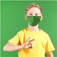 Roncato Kinder-Gesichtsmaske mit Viraloff, Größe XS (6-12 Jahre), GRÜN - Gesichtsmaske