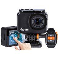 Rollei ActionCam 550 Touch Schwarz + Rollei Reisestativ - Digitalkamera