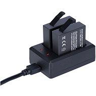 Rollei für Kameras 8S / 9S + 2x Batterien - Ladegerät