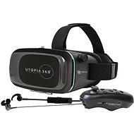 RETRAK Utopia 360° VR + Steuerung + Kopfhörer - VR-Brille