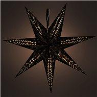RETLUX RXL 342 Weihnachtsdekoration Stern schwarz 10 LED - warmweiß - Leuchtstern