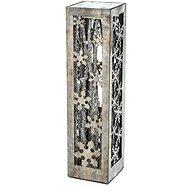 RETLUX RXL 351 Weihnachtsbeleuchtung Holzblock Schneeflocke 30 LED - kaltweiß - Weihnachtslaterne