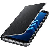 Samsung Neon Flip Cover Galaxy A8 (2018) EF-FA530P schwarz - Handyhülle