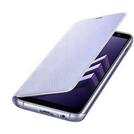 Neon Flip Handy Schutzhülle für Samsung Galaxy A8 (2018) EF-FA530P violett - Handyhülle