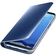 Samsung Clear View EF-ZG955C Galaxy S8+ modré - Handyhülle