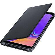 Samsung Galaxy A7 2018 Flip Wallet Cover Black - Handyhülle