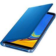 Samsung Galaxy A7 2018 Flip Wallet Cover Blue - Handyhülle