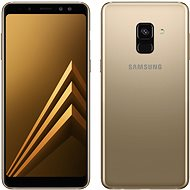 Samsung Galaxy A8 Gold - Handy
