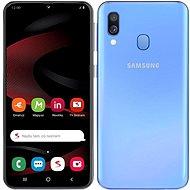 Samsung Galaxy A40 Dual SIM Blau in limitierter SEZNAM-Ausgabe - Handy