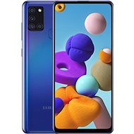 Samsung Galaxy A21s 64 GB blau - Handy