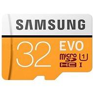 Samsung MicroSDHC 32 GB EVO UHS-I U1 + SD-Adapter - Speicherkarte
