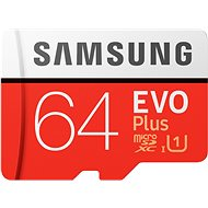 Samsung MicroSDXC 64 GB EVO Plus + SD-Adapter - Speicherkarte