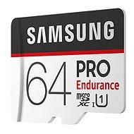 Samsung MicroSDXC 64 GB PRO Endurance UHS-I U1 + SD Adapter - Speicherkarte