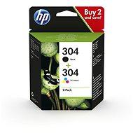 HP 3JB05AE Nr. 304 Multipack Schwarz + Farbe - Tintenpatrone
