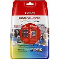 Canon CLI-526 Multipack + Fotopapier PP-201 - Tintenpatrone