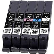 Canon PGI-72 PBK / GY / PM / PC / CO-Multipack - Tintenpatrone