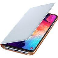 Samsung Flip Case für Galaxy A50 White - Handyhülle