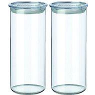 SIMAX Glasgefäß 2 Stück 1,4 l 5142 / l transparent - Dosen-Set