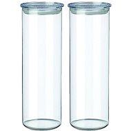 SIMAX Glasdosen 2 Stück 1,8 l 5132 / l klar - Dosen-Set