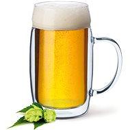 SIMAX Bierkrug Bierglas mit Henkel 0,5 Liter