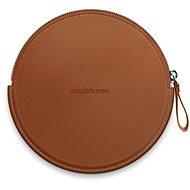 Simplehuman Sensor Compact Zip Case - Braune Hülle mit Reißverschluss für Taschenspiegel ST9001 - Hülle