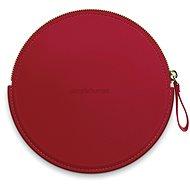 Simplehuman Sensor Compact Zip Case - Rote Hülle mit Reißverschluss für Taschenspiegel ST9004 - Hülle