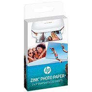 HP ZINK Sticky-Backet Photo Paper - Papier