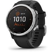 fenix 6S Solar, Silver, Black Band - Smartwatch