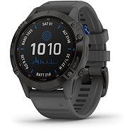 Garmin Fenix 6 Pro Solar Black/ Slate Gray Band - Smartwatch