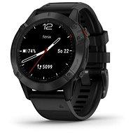 Garmin Fenix 6 Glass Black/Black Band (MAP/Music) - Smartwatch