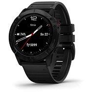 Garmin Fenix 6X Glass Black/Black Band (MAP / Music) - Smartwatch