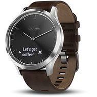 Garmin vívomove HR Premium Silver (Größe L) - Smartwatch