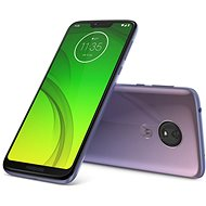 Motorola Moto G7 Power Lila - Handy