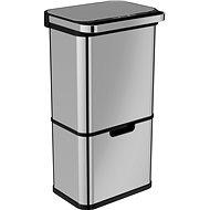 Home Berührungsloser Abfallbehälter mit Ozonisator - 60 Liter (36 Liter + 24 Liter) - Abfalleimer