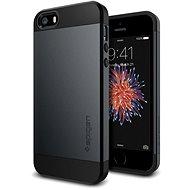 SPIGEN Slim Armor Metal Slate iPhone SE / 5 s/ 5 - Schutzhülle