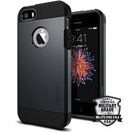SPIGEN Tough Armor Metal Slate iPhone SE/5s/5 - Schutzhülle