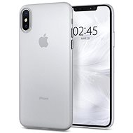Spigen Air Skin Clear iPhone XS/X - Silikon-Schutzhülle