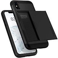 Spigen Slim Armor CS Black iPhone XS/X