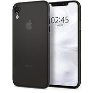 Spigne Air Haut Schwarz iPhone XR - Silikon-Schutzhülle