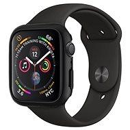 Spigen Thin Fit Black Apple Watch 44mm - Silikon-Schutzhülle