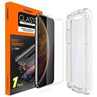 Spigen Glas.tR EZ Fit iPhone XS/X - Schutzglas