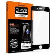 Spigen Glass FC Black iPhone 8/7 - Schutzglas