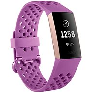 Fitbit Charge 3 Berry - Fitness-Armband