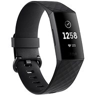 Fitbit Charge 3 Schwarz / Graphit Aluminium - Fitness-Armband
