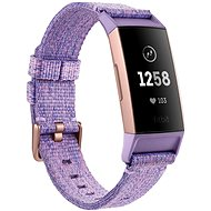 Fitbit Charge 3 Lavender Woven / Rose-Gold Aluminium - Fitness-Armband