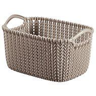 Curver Knit Aufbewahrungskorb 3L braun - Aufbewahrungsbox